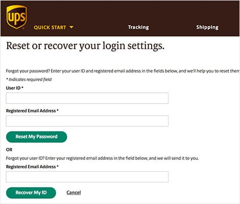 UPSers Login and Registration upsers.com